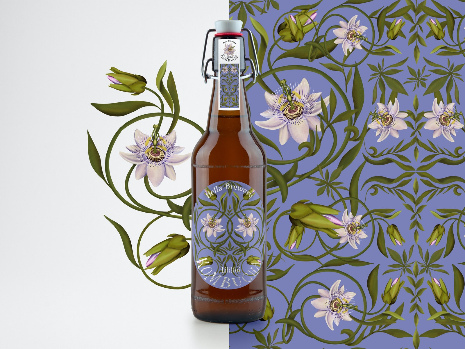 Product design for Hella Brewery by swedish artist Ishtar Bäcklund